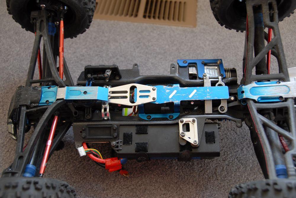 My Custom Carbon Fiber Revo 3 3 Brushless Conversion R