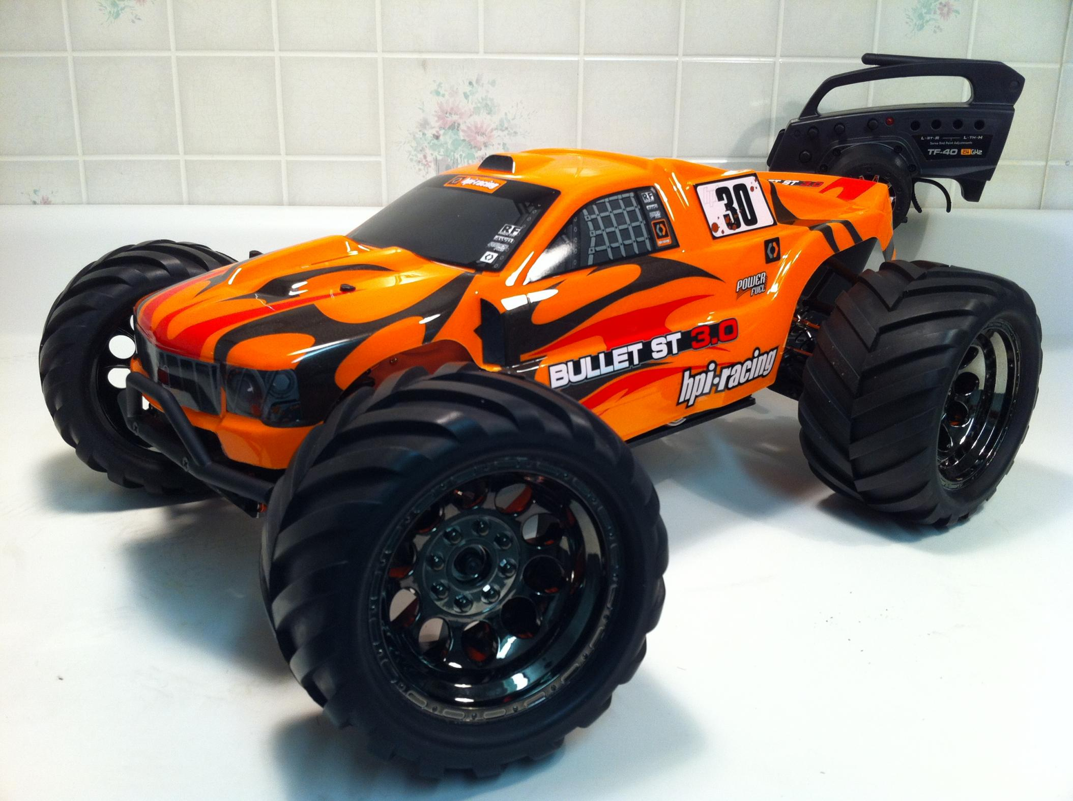HPI Savage XS or Bullet ST MT img 1016