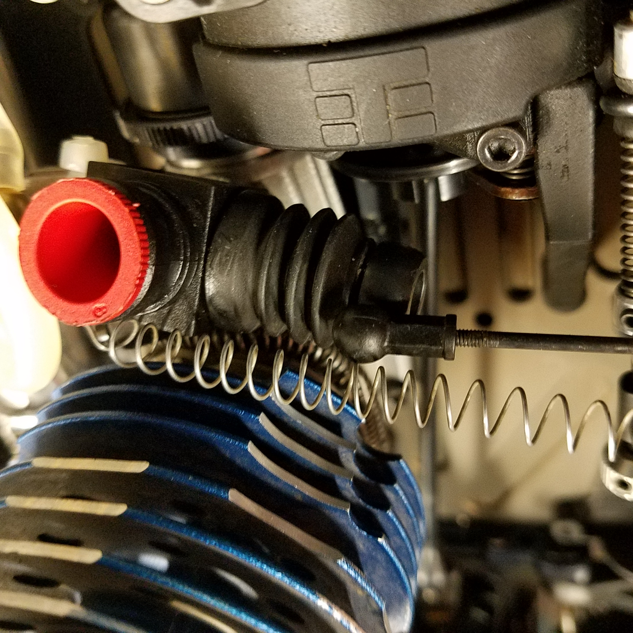 Best way to install throttle return spring? - Page 3 - R/C
