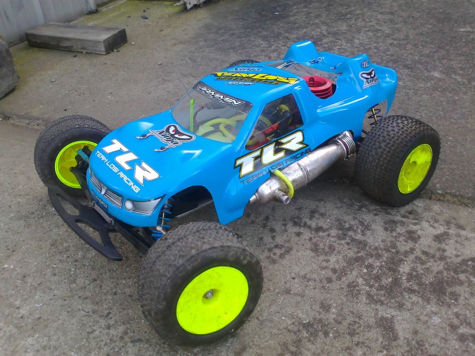 losi nitro truck r with 608269 1 10 Stadium Truck Nitro on Watch in addition Showthread furthermore 181822423519 also Gear Head 1 55 Krusher Aluminum Wheels as well Mugen Mtx 6 4wd Nitro Touring Car.