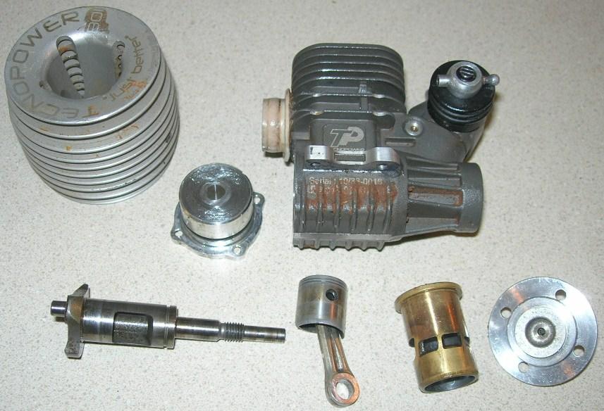 pin nitro engine link to diagram on