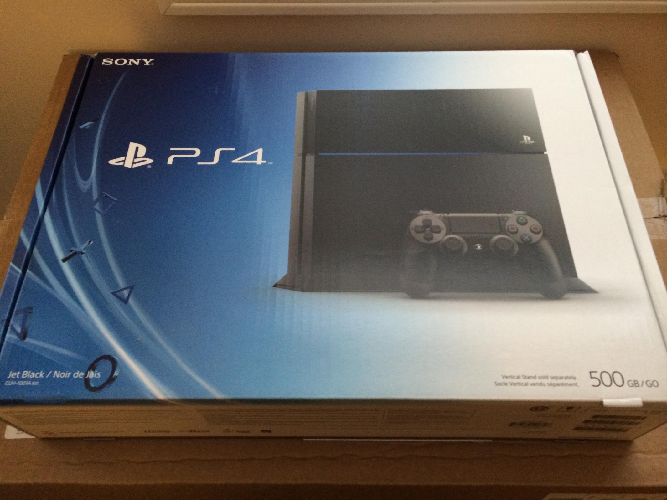 Brand new sealed sony playstation 4 ps4 console r c tech forums - Playstation one console for sale ...