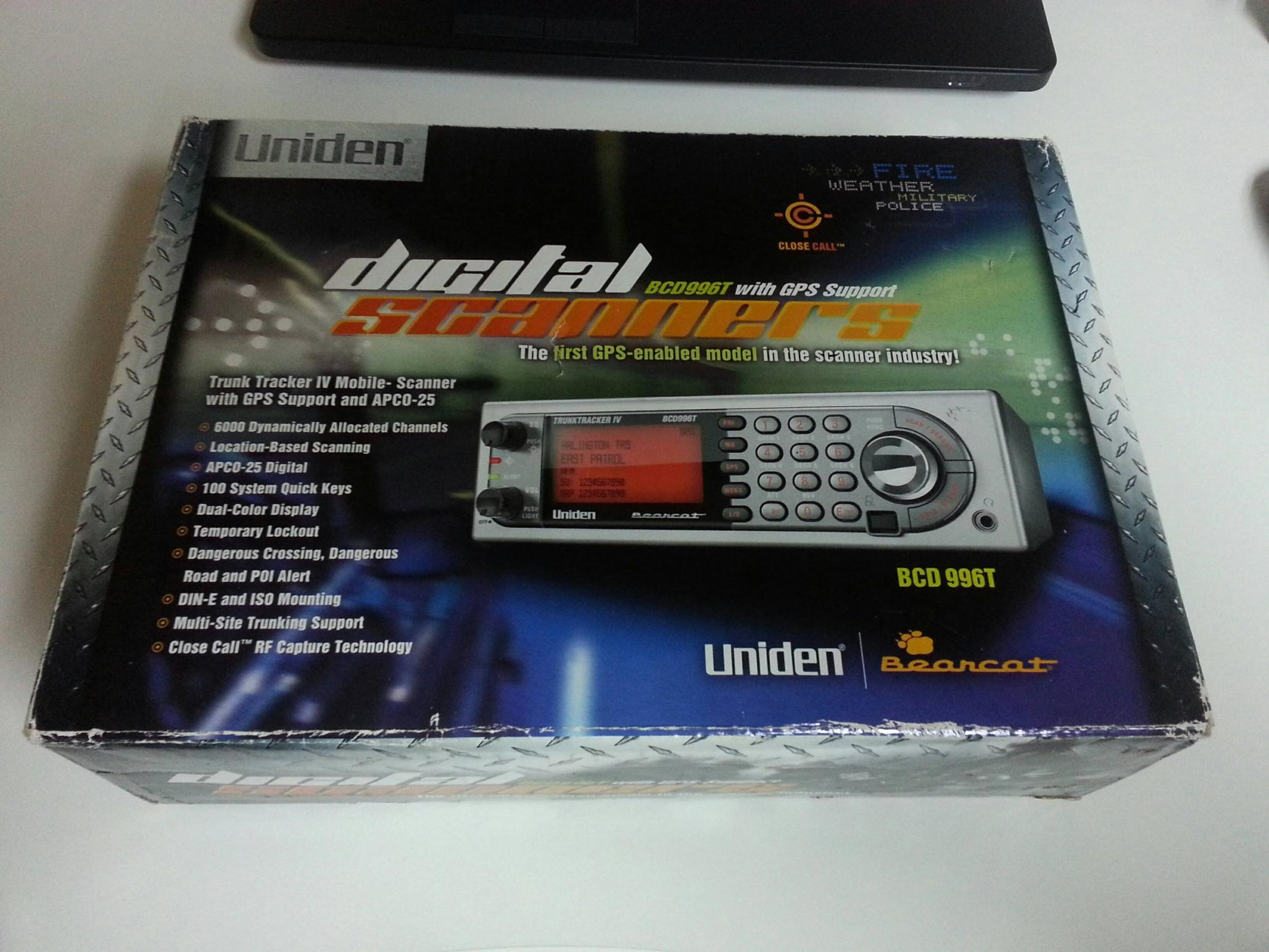 Uniden BCD996T Digital Police Scanner - R/C Tech Forums