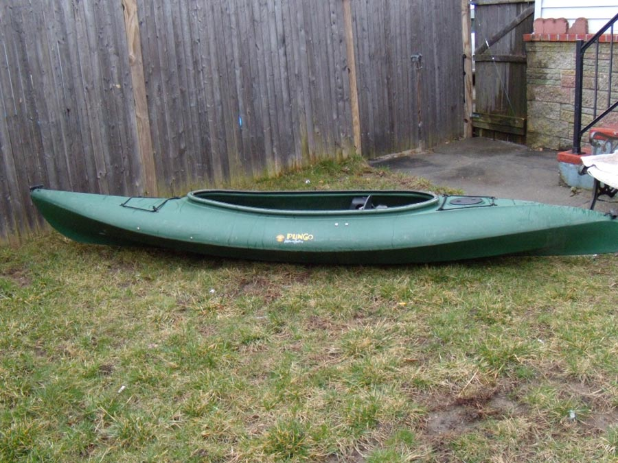 Wilderness Systems Rascal Kayak With Werner Skagit Carbon ...