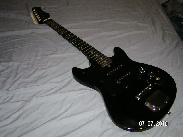 Vintage Harmony Electric Guitar W   Amp  C Tech Forums