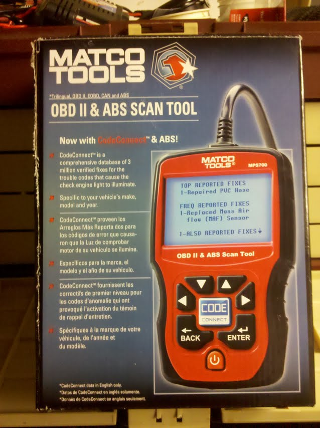 Matco Tools OBD2 Scanner