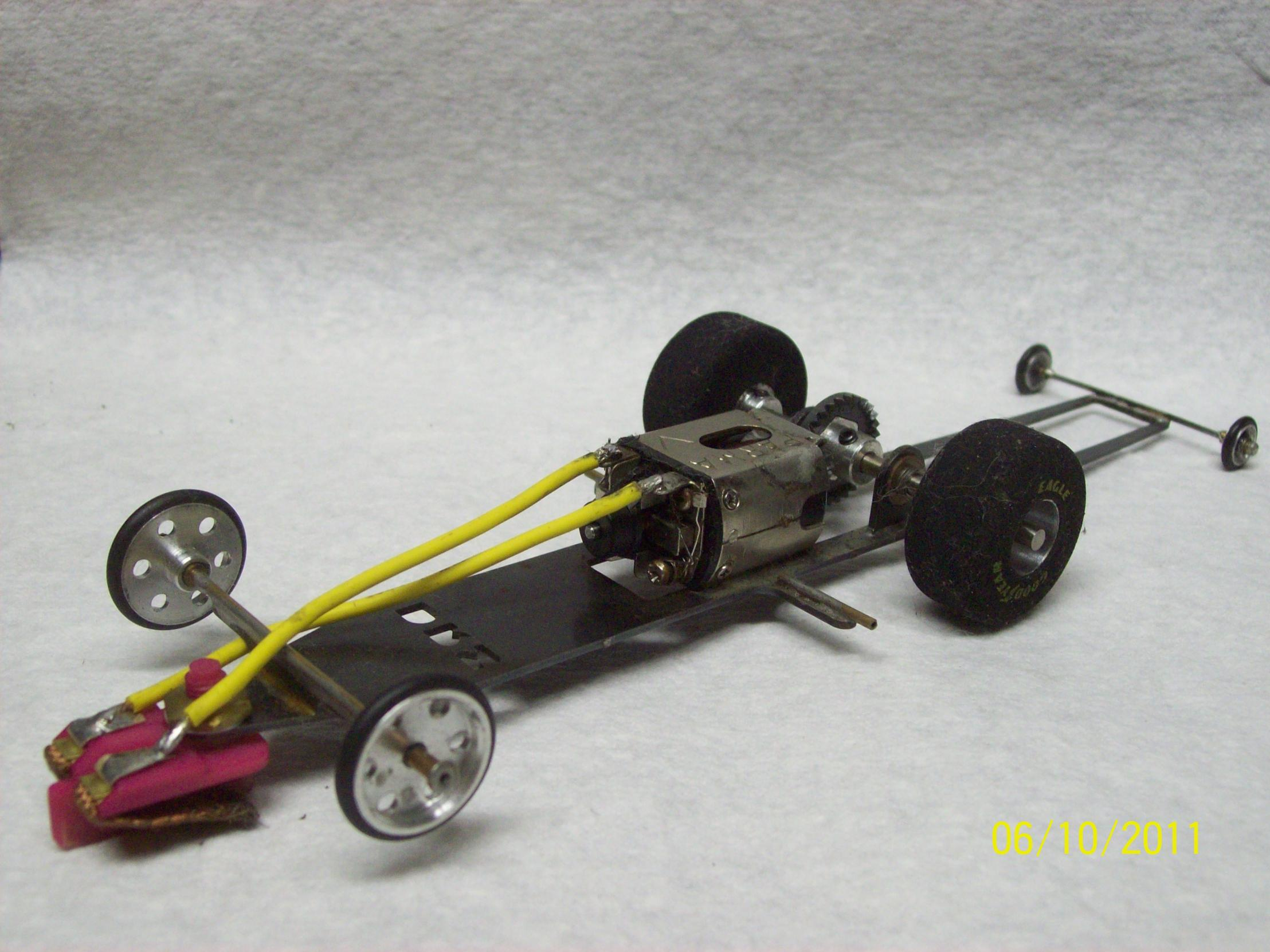 Scale Slot Drag Car Parts