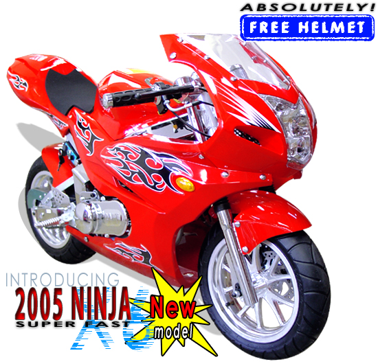 x6 49cc 2 stroke mini bike
