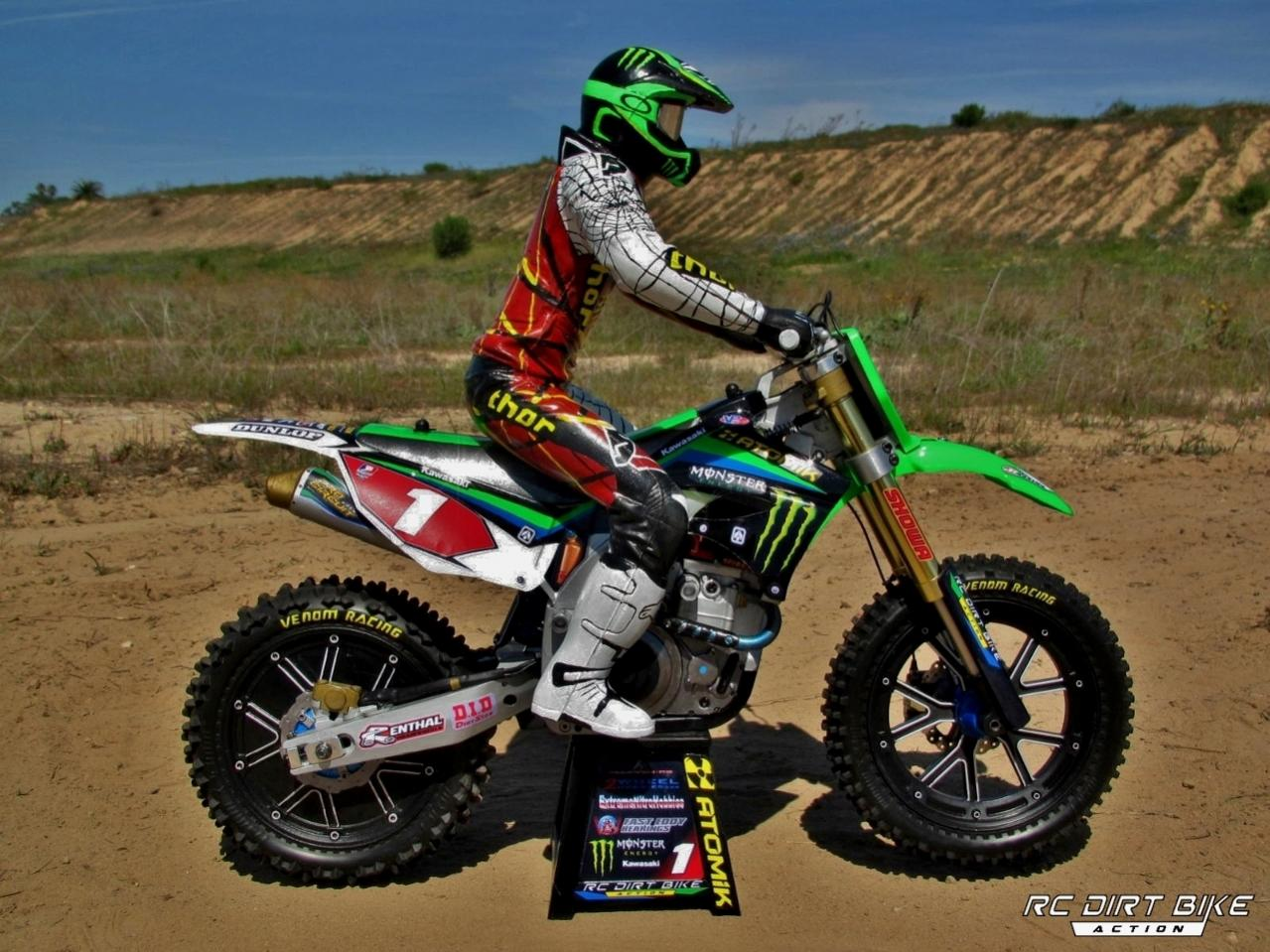 2013 replica ryan villopoto 1 4 rc dirt bike r c tech forums. Black Bedroom Furniture Sets. Home Design Ideas