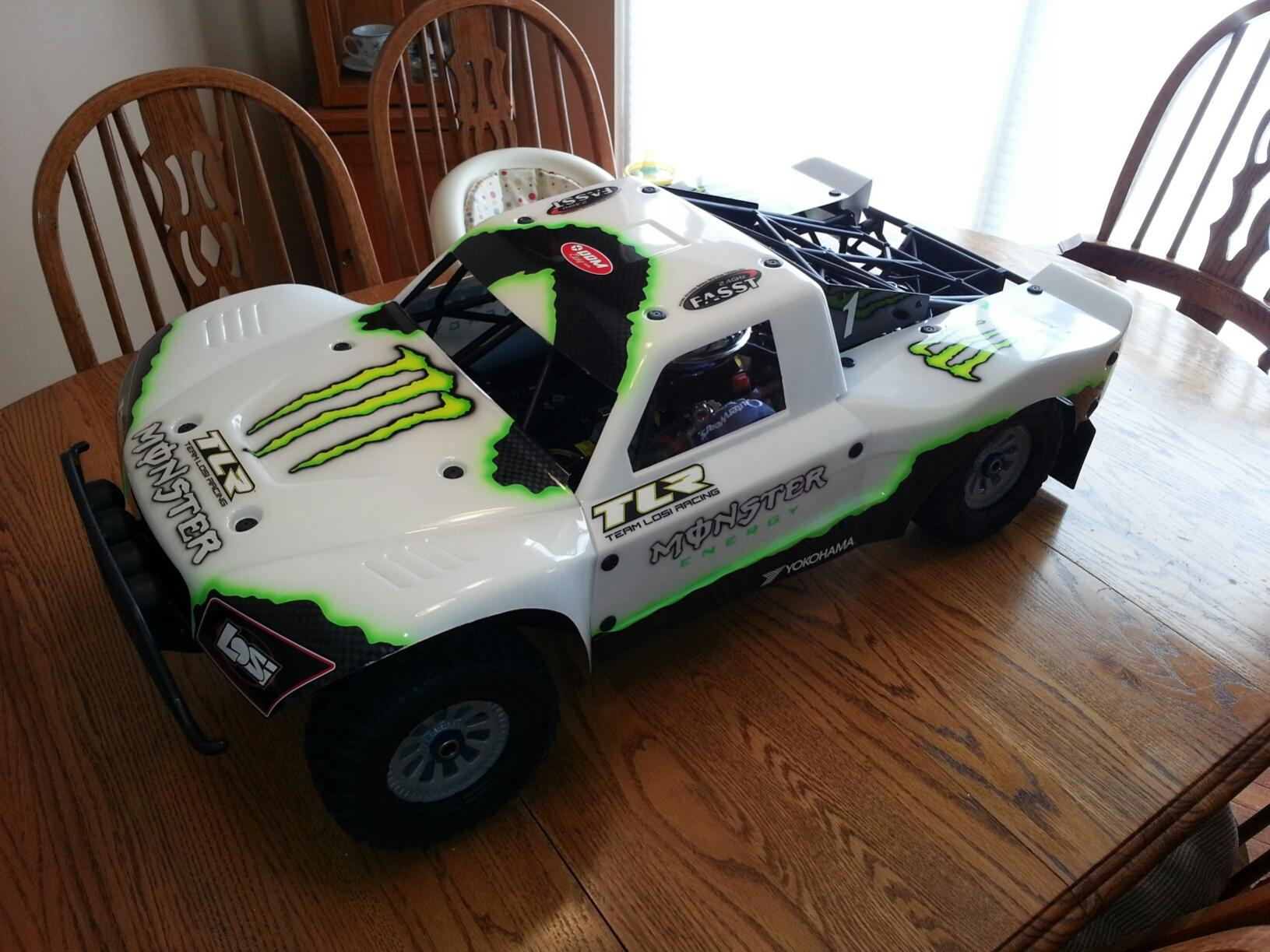 Losi T Painted Body