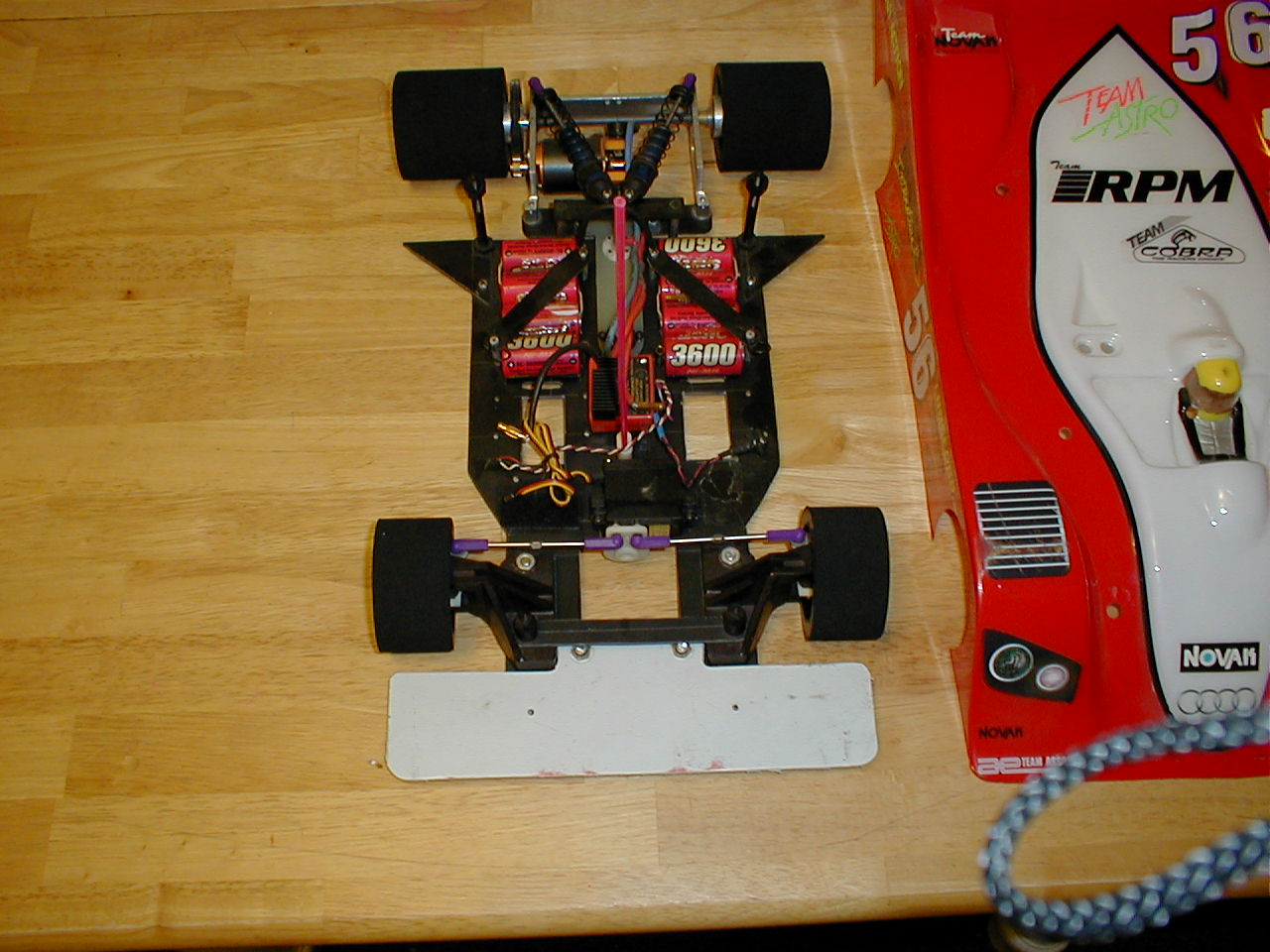 Will there ever be a 1/8th scale Electric onroad car - R/C ...