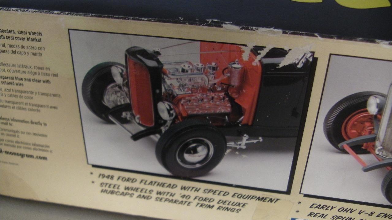 1932 Rat Rod Model to RC