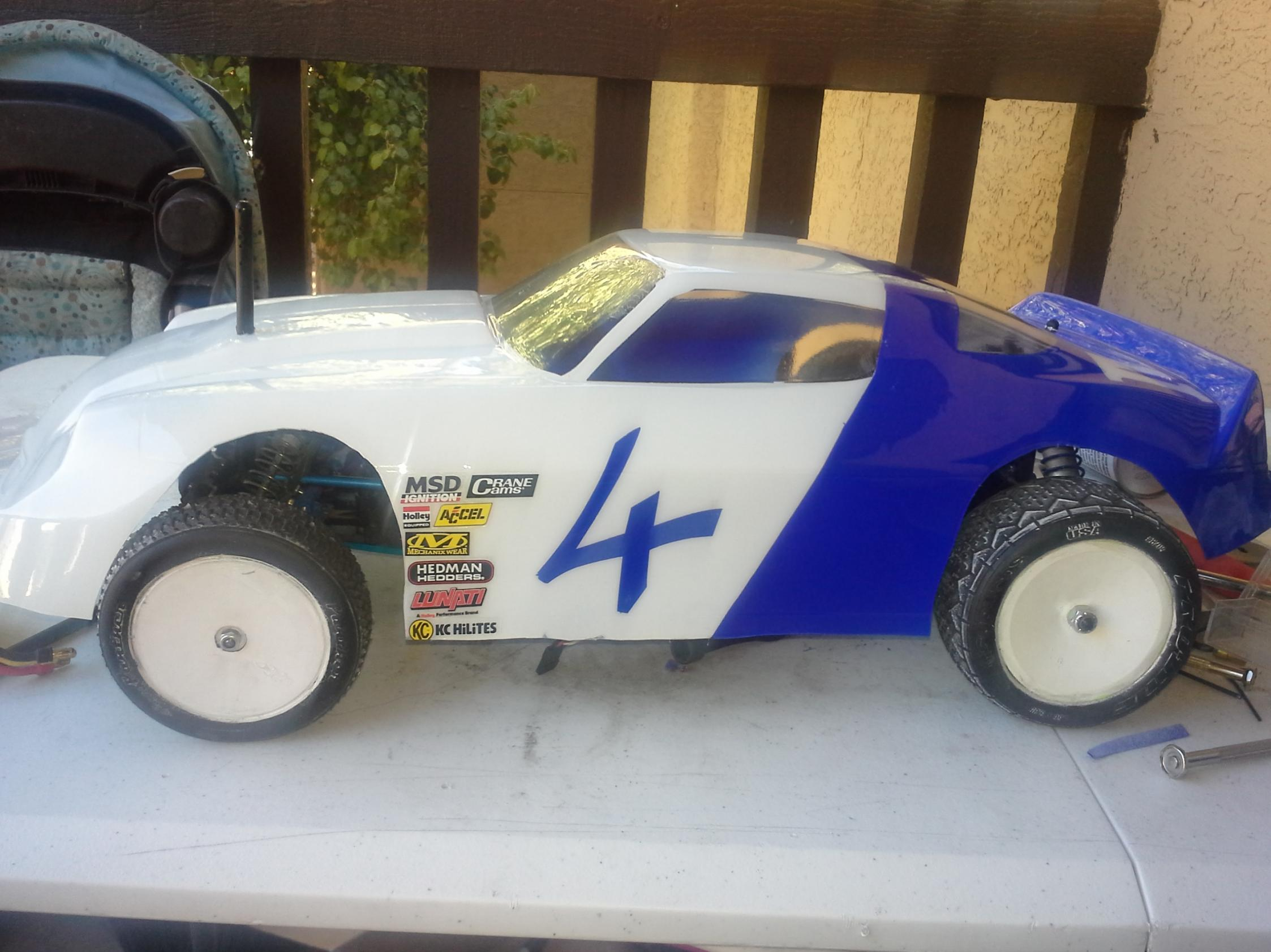 Bomber Dirt Oval Cars lets see some pictures - R/C Tech Forums