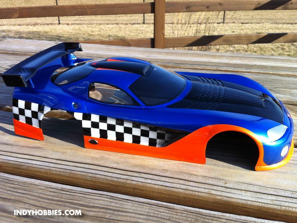 custom race car paint