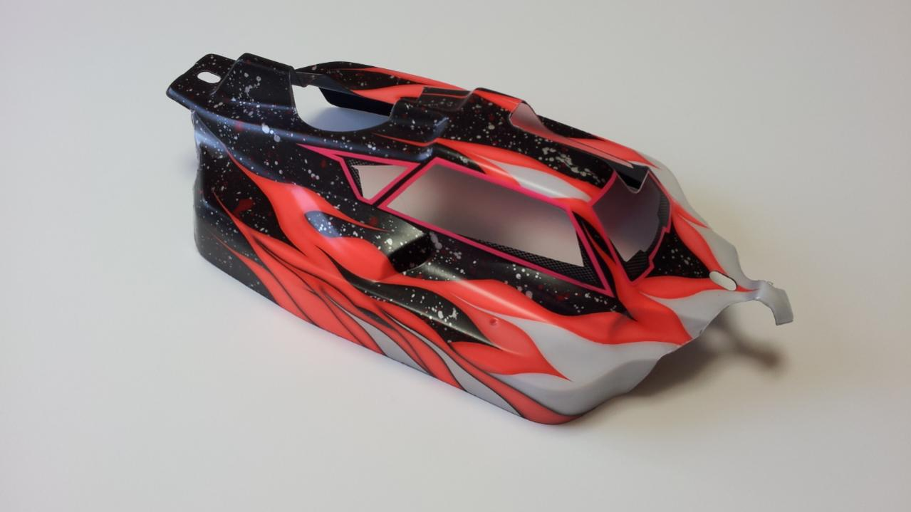 Rickside design 39 s custom paint body shell page 3 r c for Custom paint and body