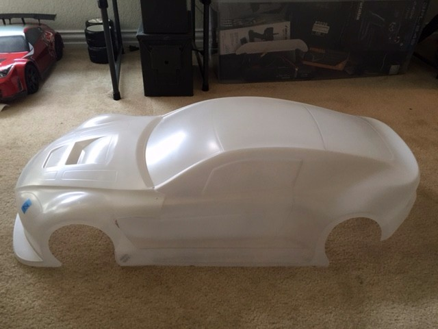 What's the typical cost to paint a 1/5 body shell? - R/C