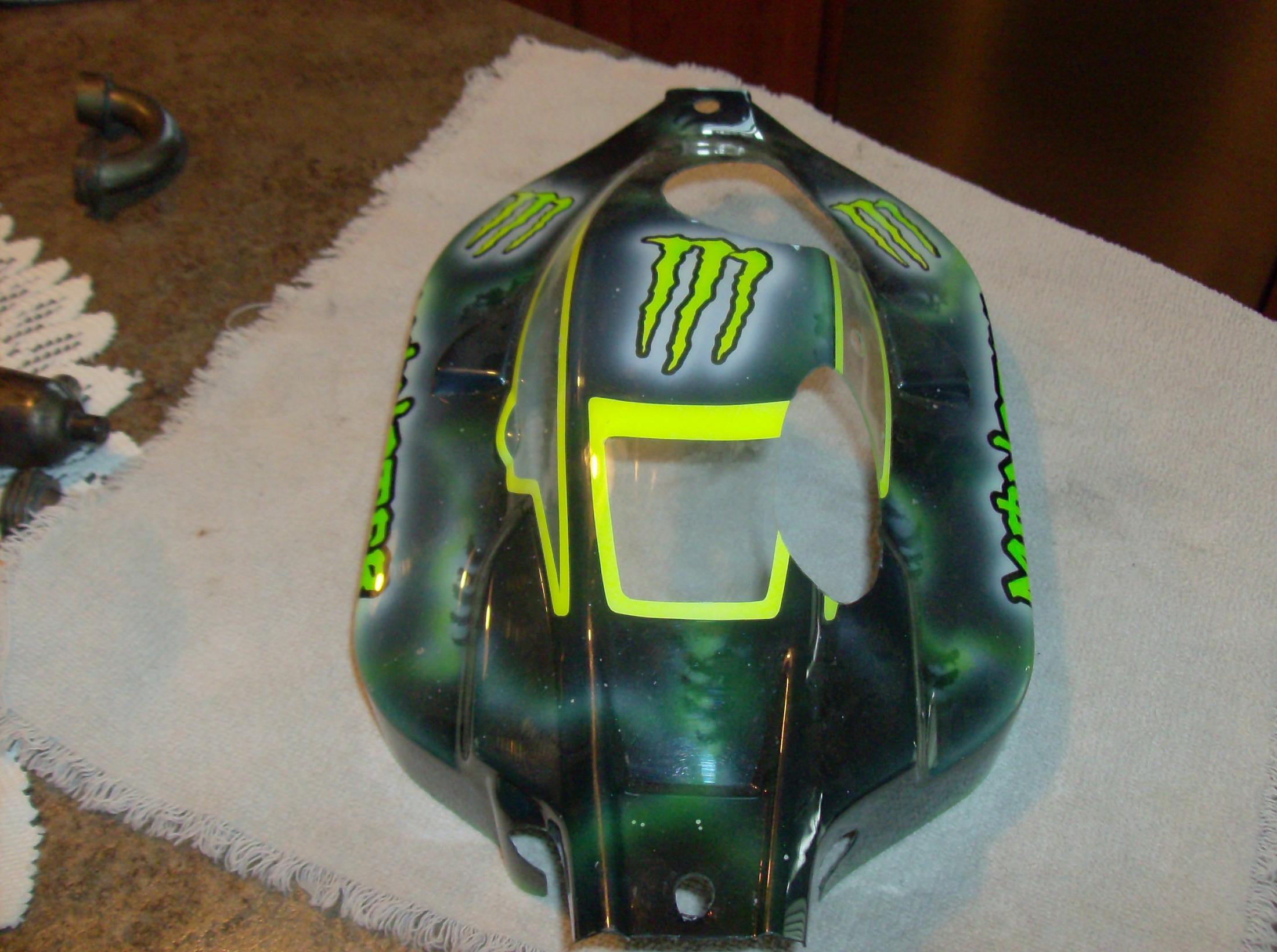 Monster Trucks For Sale >> MONSTER energy paint jobs??? - R/C Tech Forums