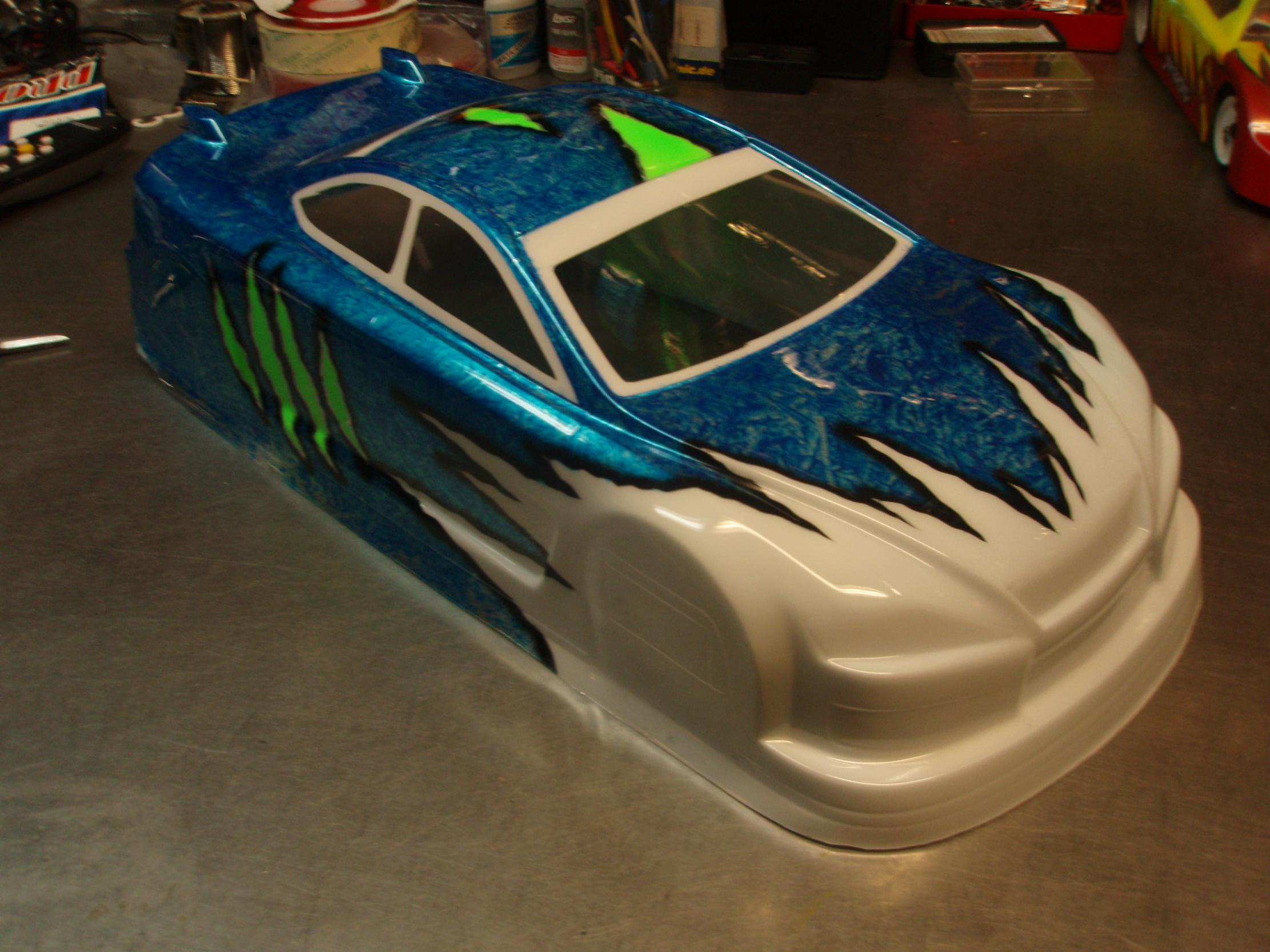 Rc car paint schemes new car release date and review for Painted auto body parts reviews