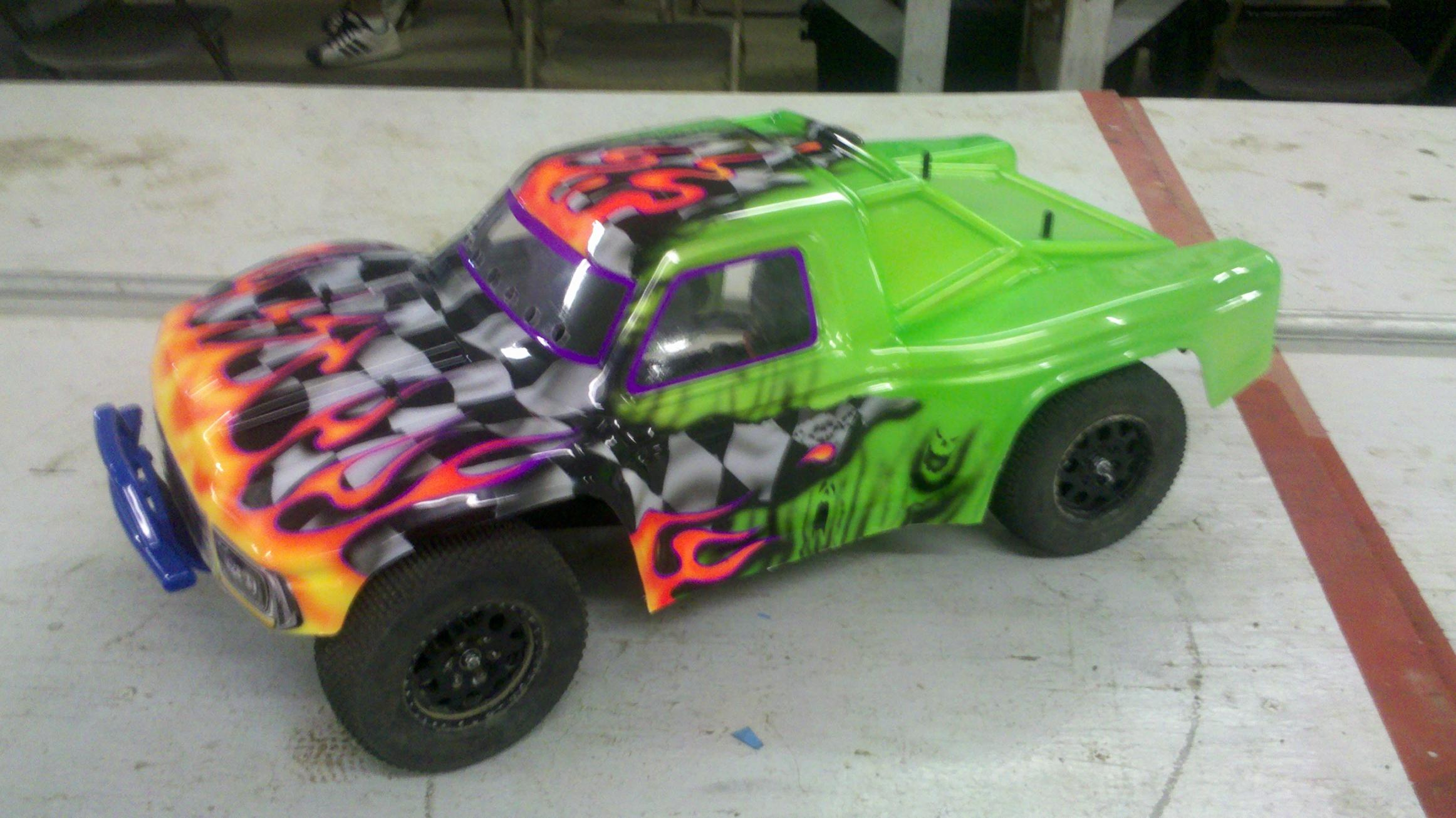 How To Airbrush Paint On Cars