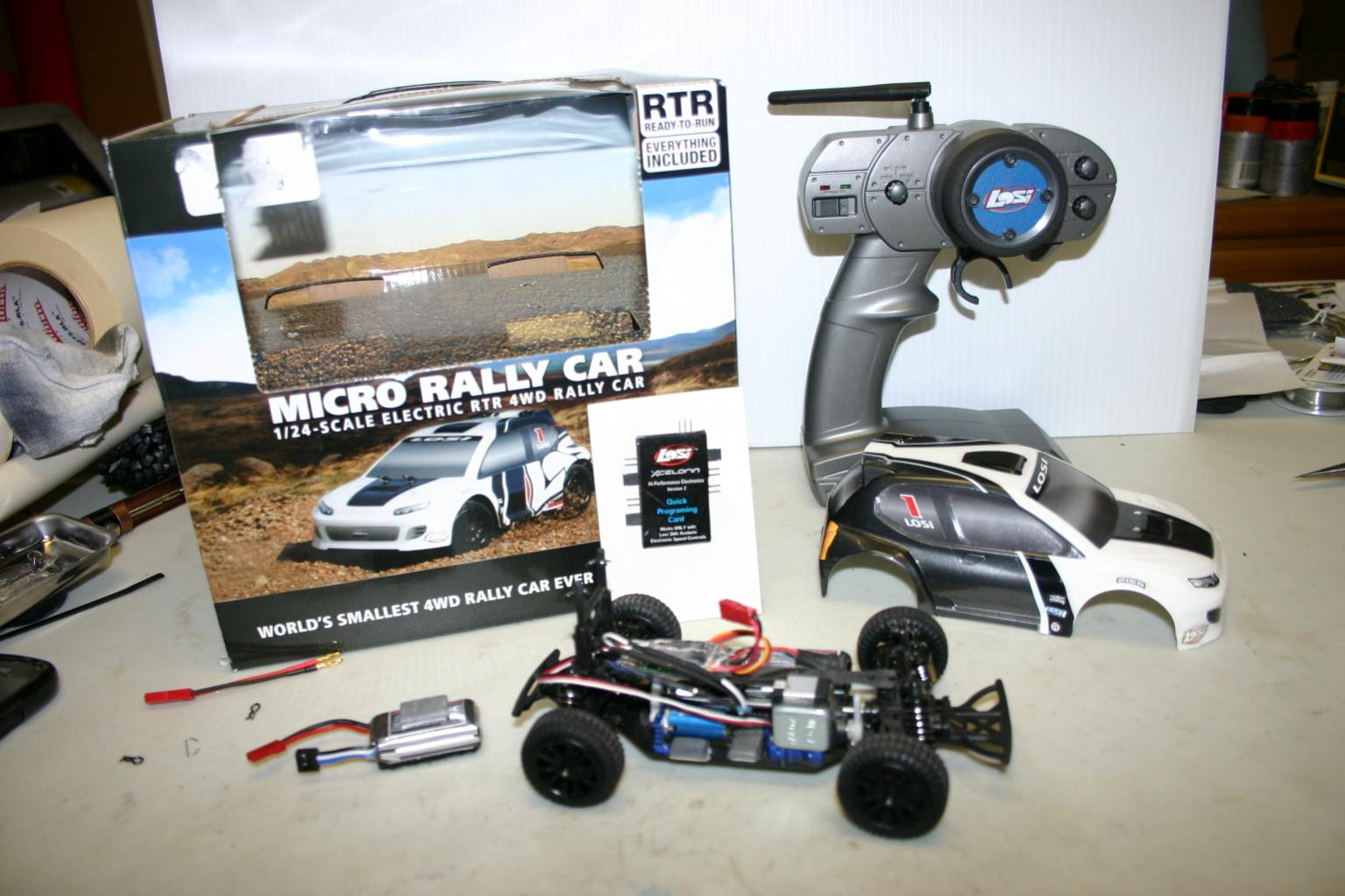 Losi Micro Rally Car For Sale