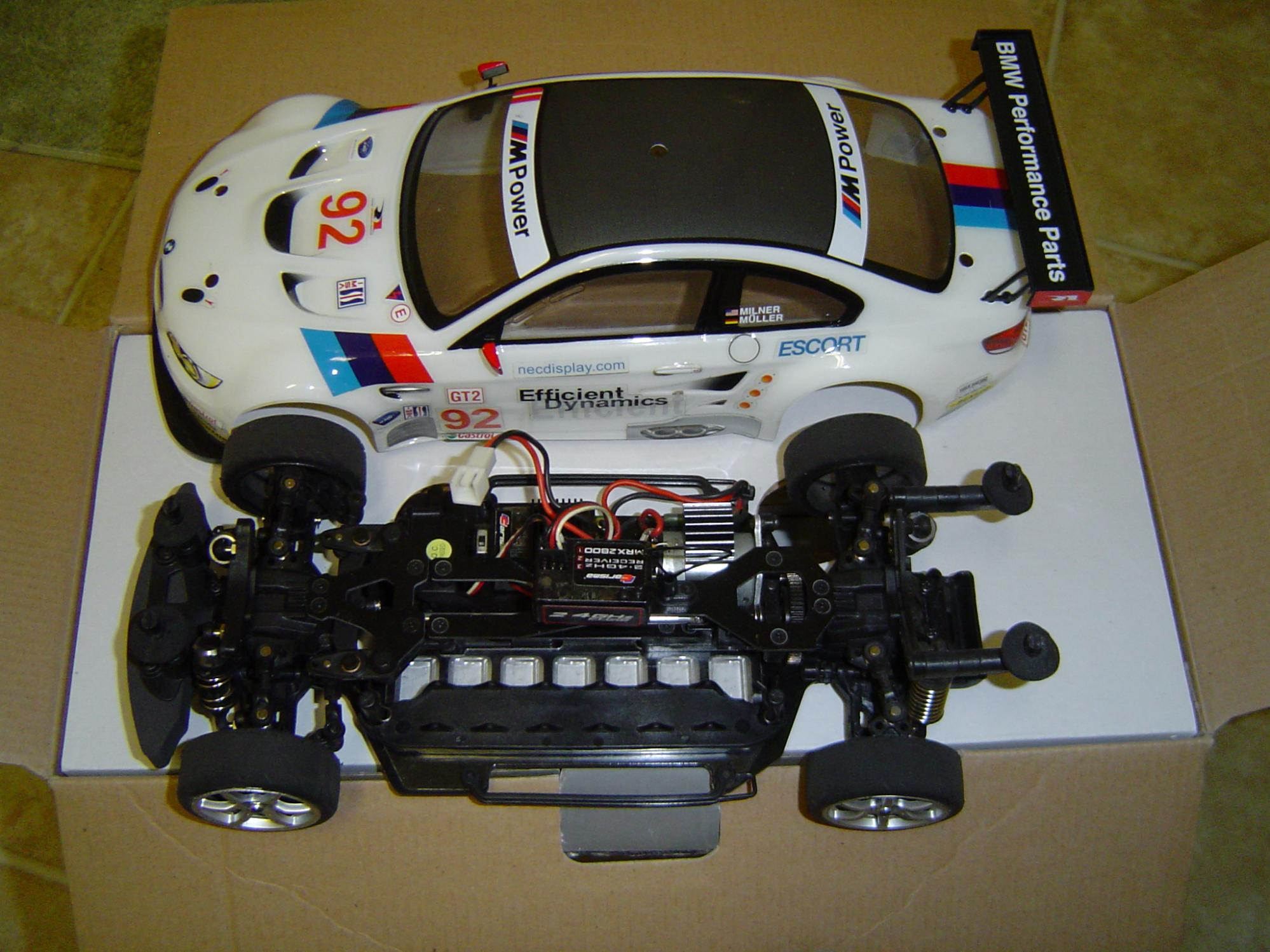 BMW Used For Sale >> Carisma GT14 BMW Rahal Racing M3 - R/C Tech Forums