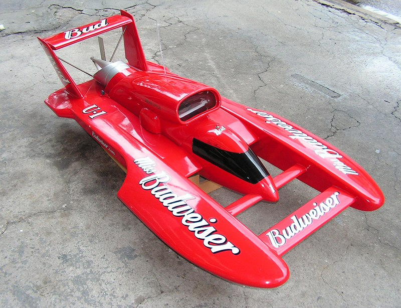 MISS BUDWEISER 1/8 RC BOAT MINT CONDITION - R/C Tech Forums