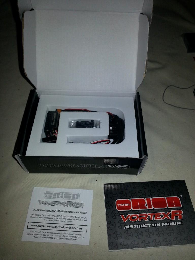 orion r10 pro 2-3s 160amp esc like new  dsb r box  c