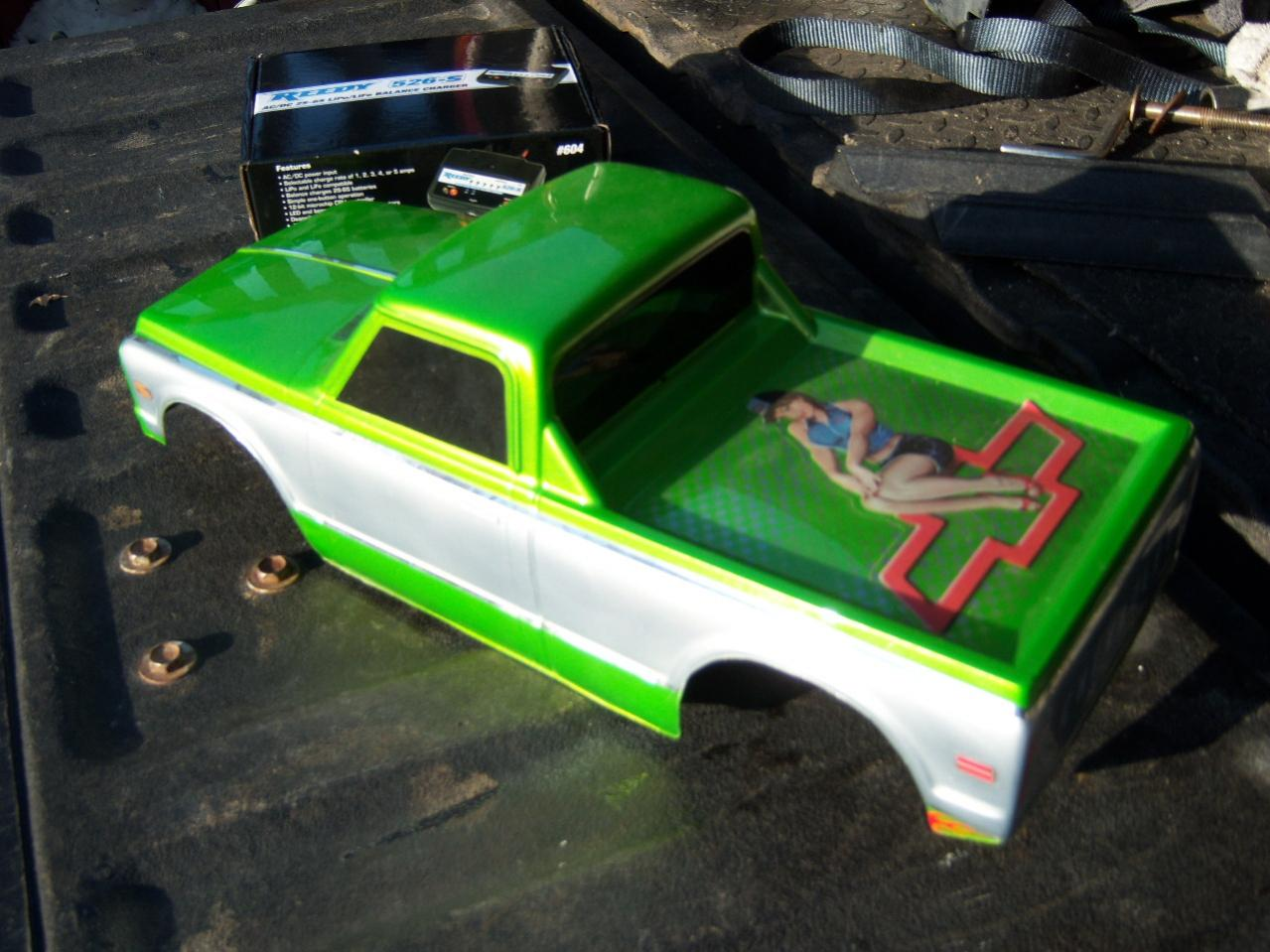 Custom Painted Rc Truck Body Fits 1 10 Traxxas T E Maxx Revo 2 5 1 8 Hpi Savage R C Tech Forums