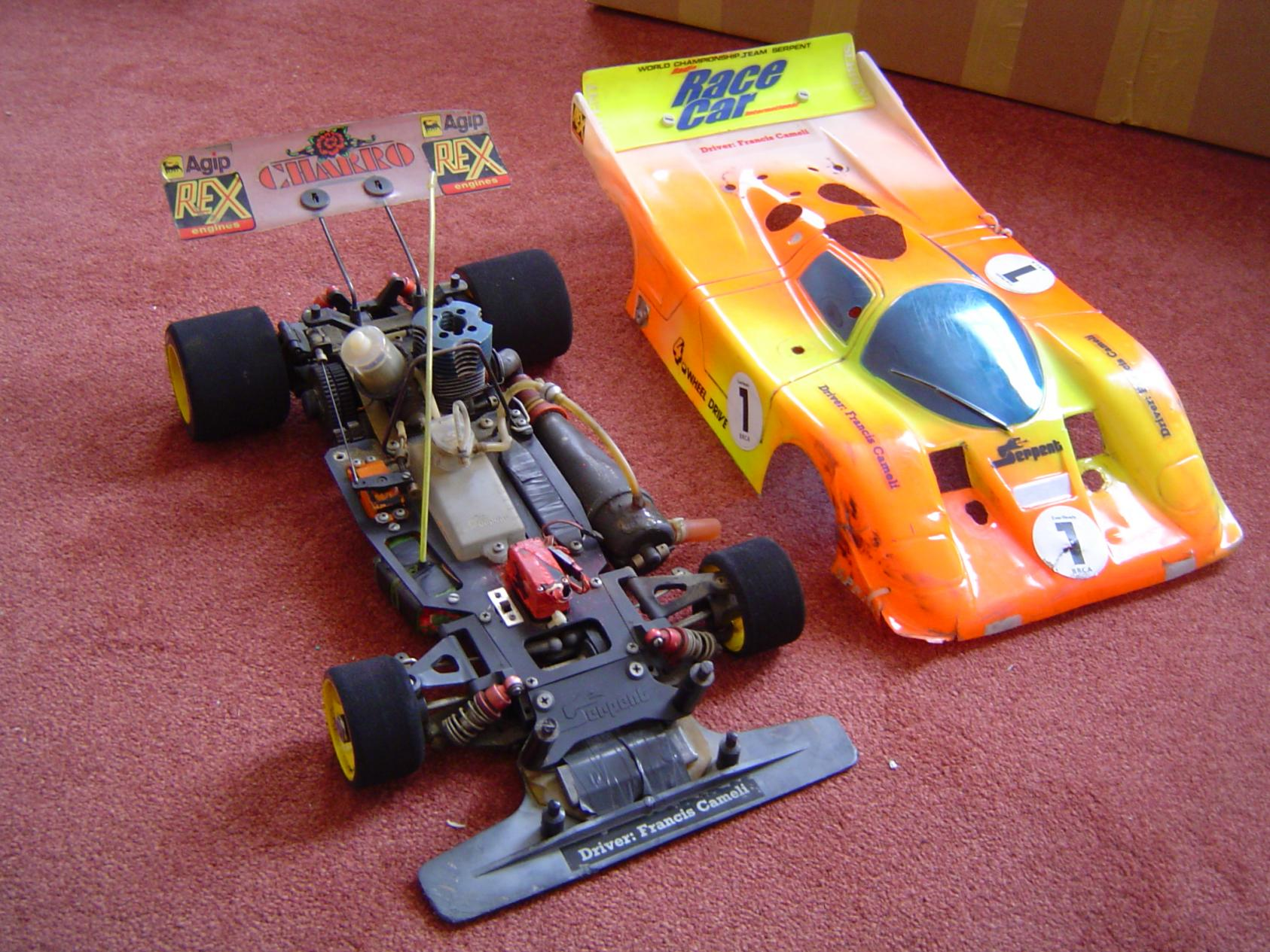 serpent rc 1 8 race car 4wd pretty sure its serpent sprint. Black Bedroom Furniture Sets. Home Design Ideas