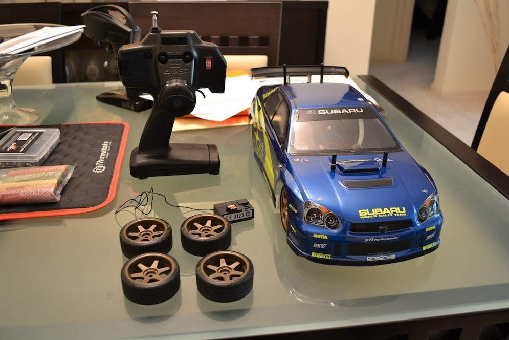 Buy It Now Tamiya Tt01 Subaru Impreza Wrx Sti Electric Rc