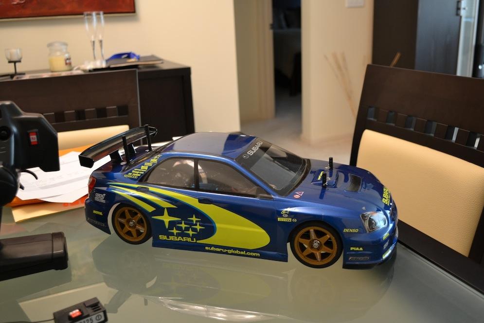 Used Subaru Wrx Sti >> Buy it now Tamiya TT01 Subaru Impreza WRX STi electric RC ...