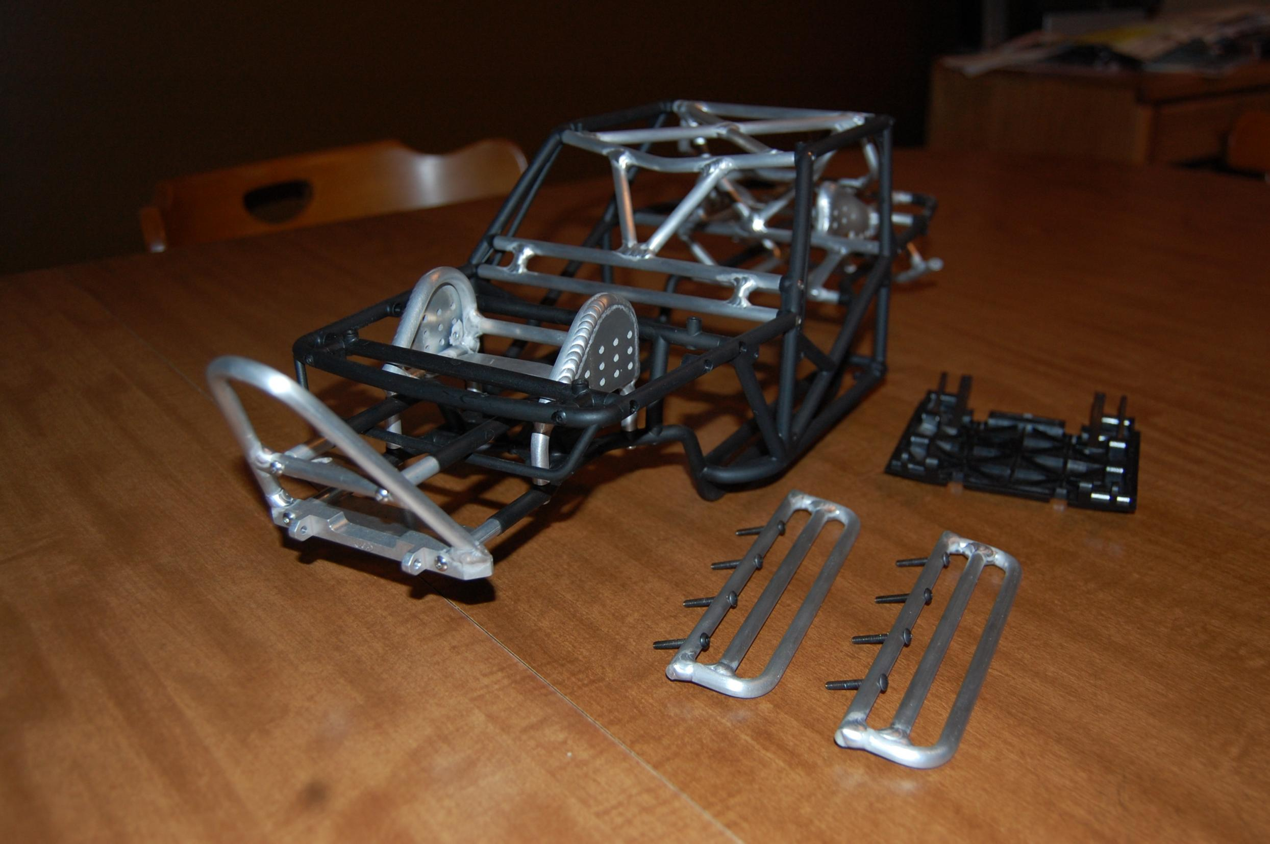 bgr fabrication u0026 39 s one of a kind wraith cage f  s  c tech