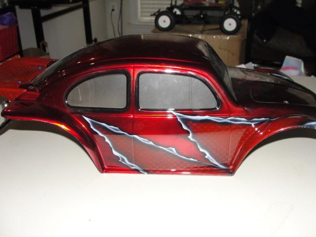 Vw Baja Custom Paint Body Red Joe Yang Inventory