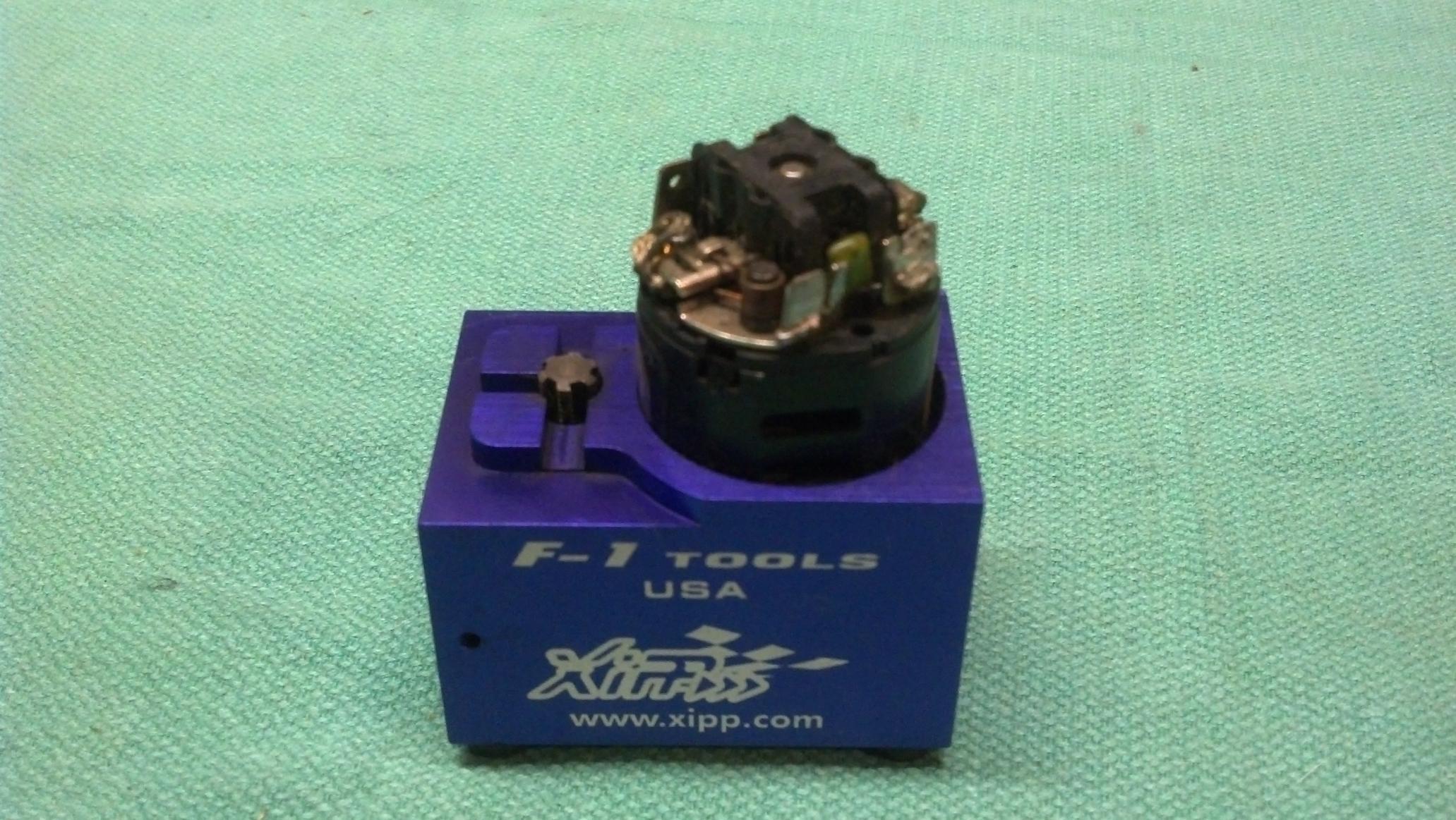 ... Brushed Motor Breakin Tools (brush serrator, breakin stand, motor breakin fan)- ...
