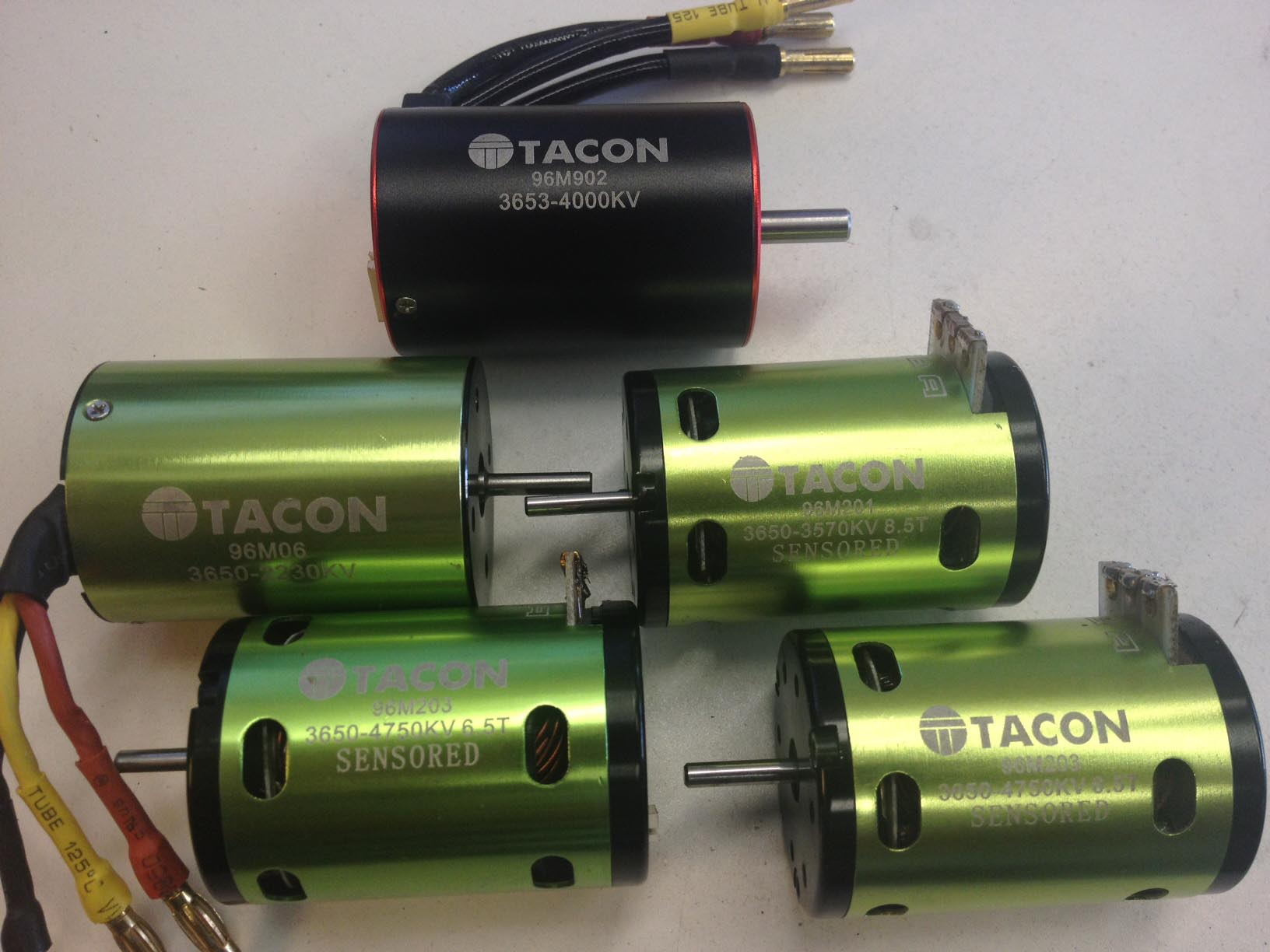 Tacon motors for Brushless motors for sale