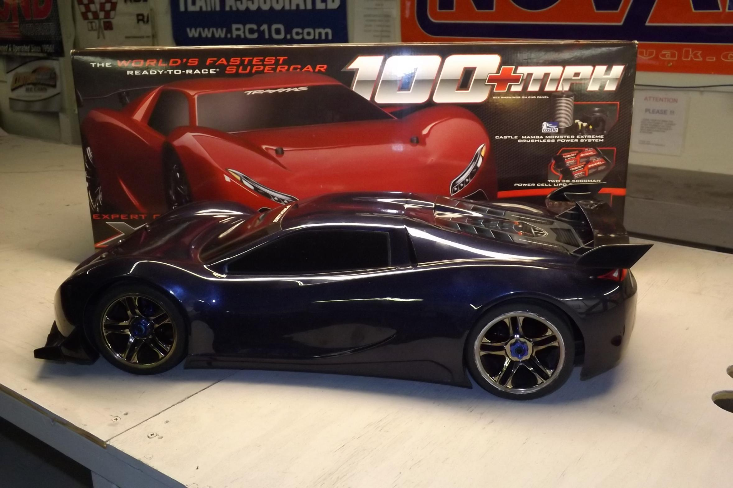 Used Batteries For Sale >> TRAXXAS XO - 1 1/7 SUPERCAR W/ UPGRADES 100 + MPH CAR RTR - R/C Tech Forums