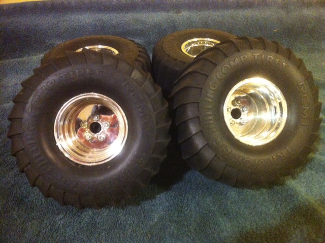 Tractor Pulling Tires And Rim : F s rc wd tractor xl pulling tires r c tech forums