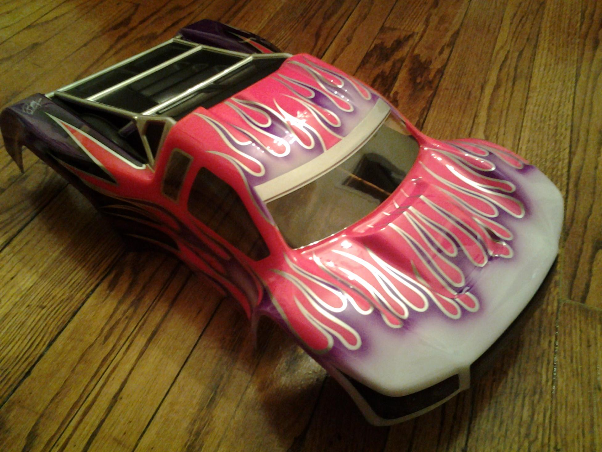 Losi Ight E   Painted Body