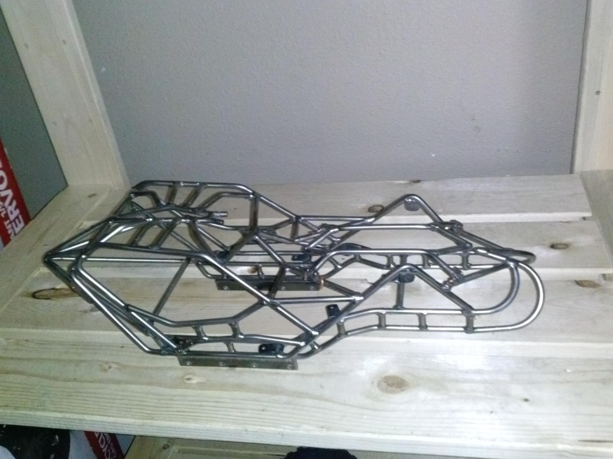Rock Bouncer For Sale >> Custom Spider southern rock bouncer chassis (wraith skid) - R/C Tech Forums