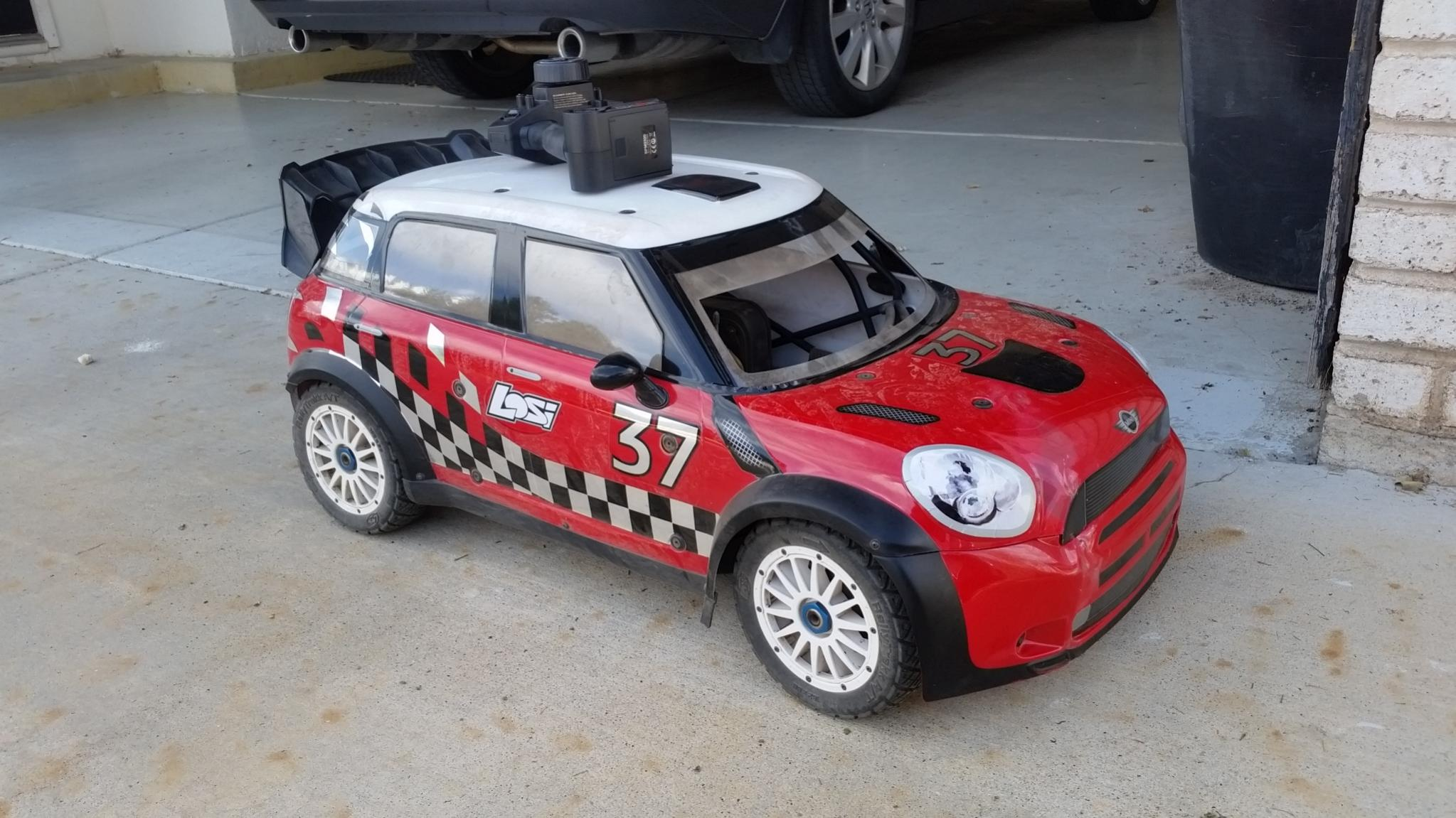 Losi Mini WRC 1/5 Scale Rally Car For Sale - 2 Weeks\' Old ...