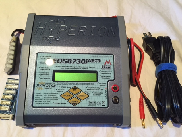 hyperion eos 0730i net3 digital charger and 47a juice box power