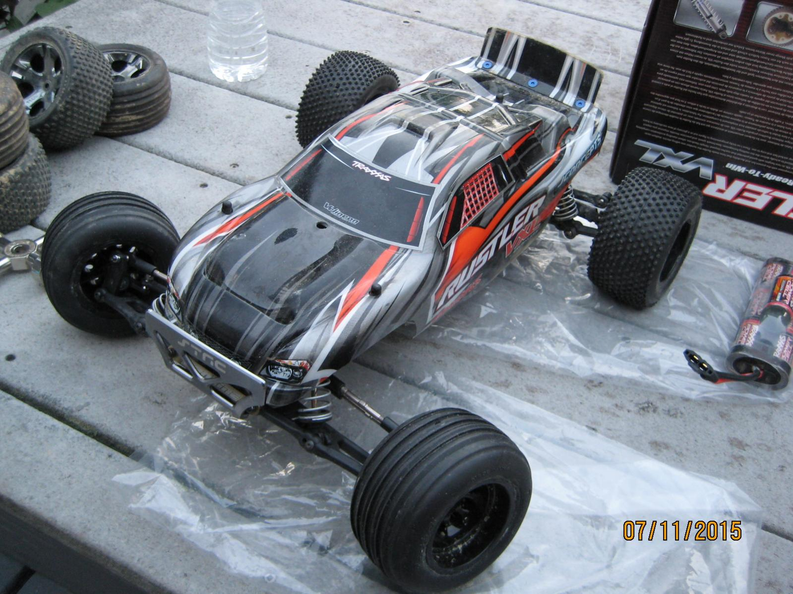 Traxxas Rustler Vxl Rtr With A Bunch Of Extras R C Tech Forums Rc Sale 050