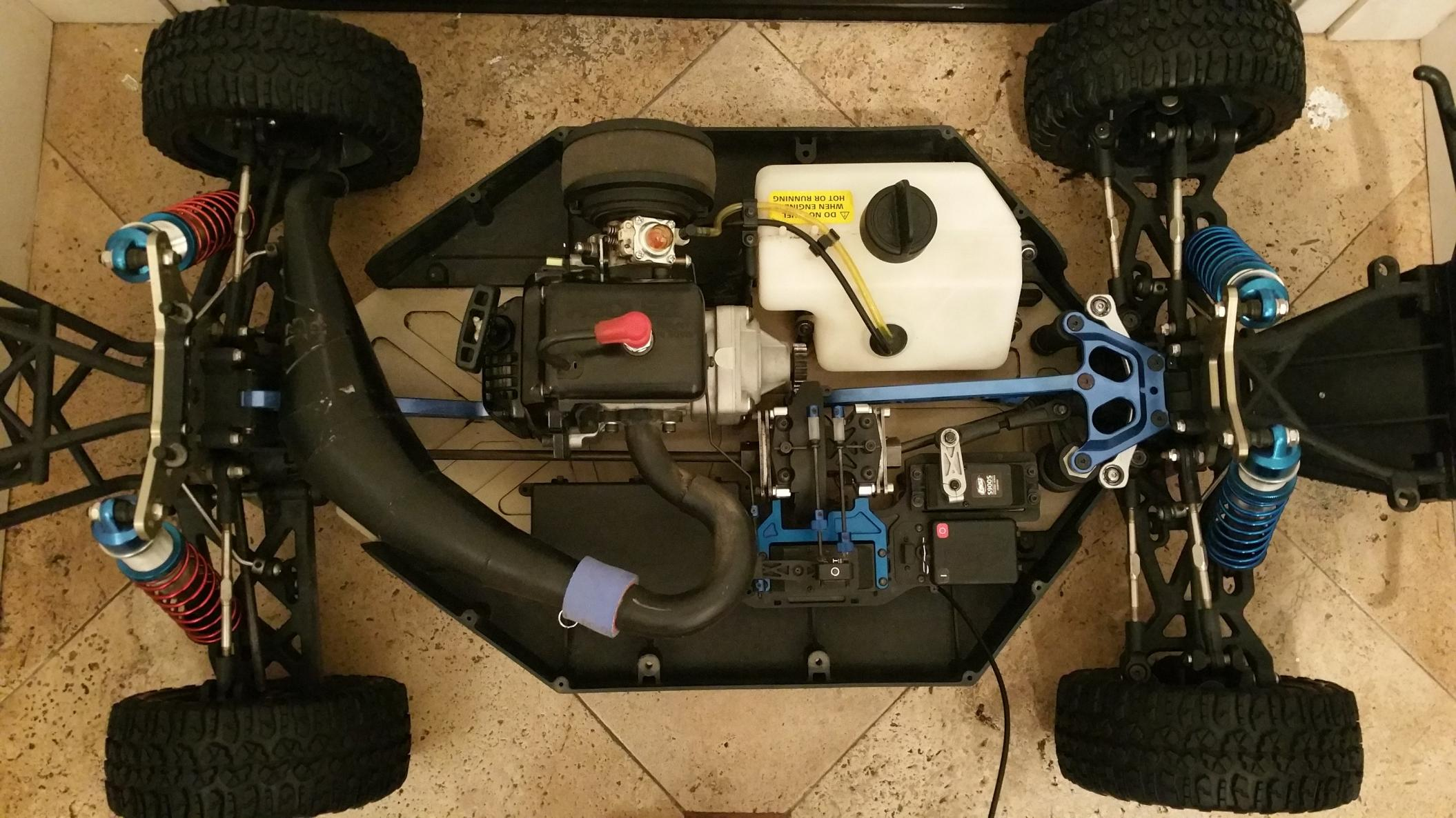 Losi 5ive w/ 29cc zenoah and BR pipe (RTR) - R/C Tech Forums