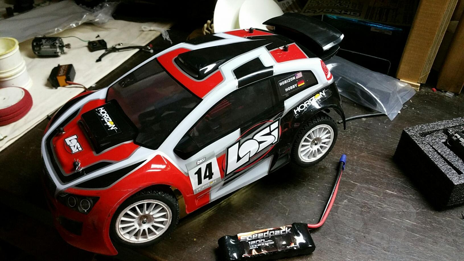 Losi mini rally 1/14 Super Clean & Cheap - R/C Tech Forums