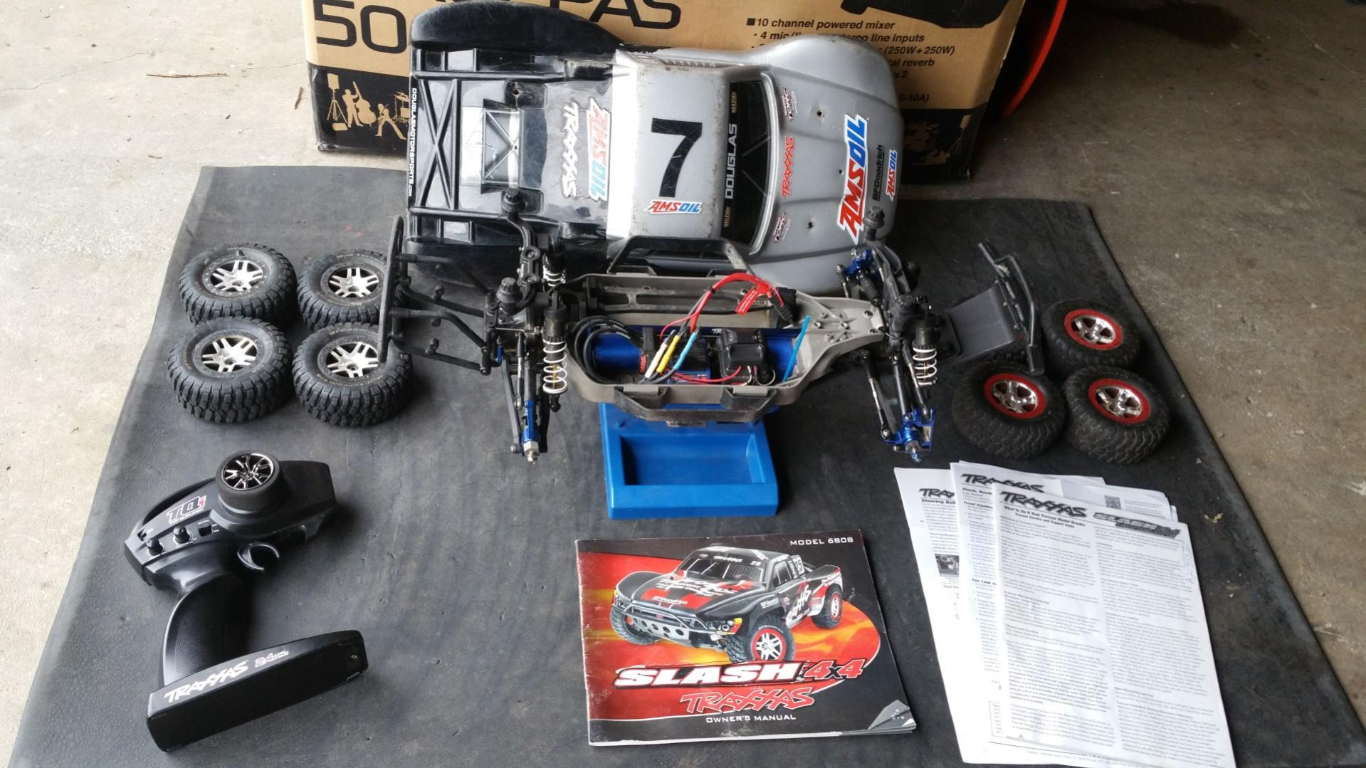 Traxxas Slash 4x4 LCG Ultimate Edition RTR full RPM - R/C