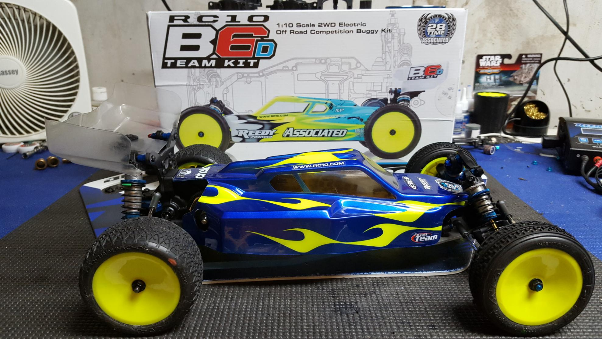 For Sale Team Associated B6D with laydown transmission 1
