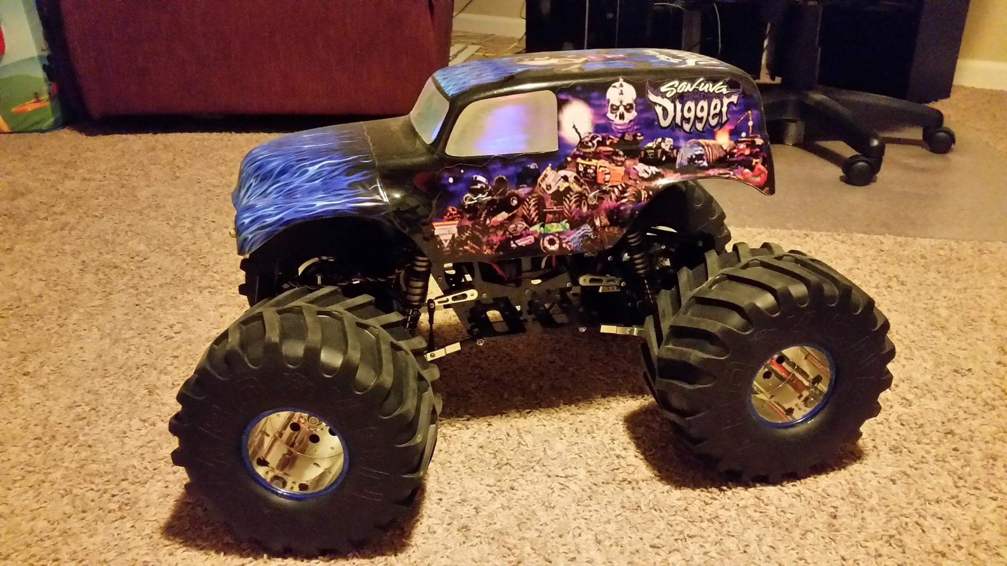 Big Truck Trader >> Thunder Tech Ripper XL Son UVA Digger Monster Truck - R/C Tech Forums