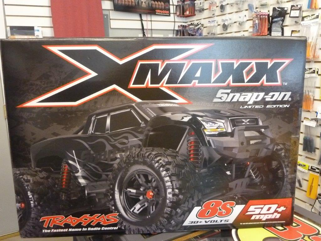 Limited Edition Snap On Traxxas X Maxx Rc Truck R C Tech