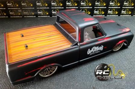 Gas Monkey Garage Shop Truck Patina Bombshell Body R C