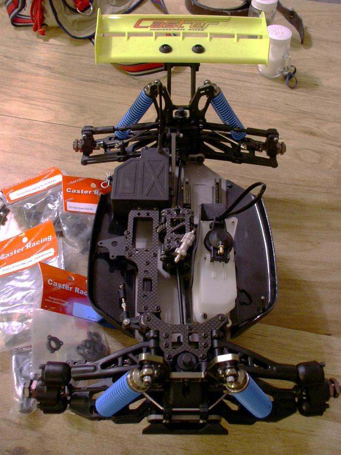 Caster-Racing ZX-1 Pro 1/8 Buggy, Roller - R/C Tech Forums